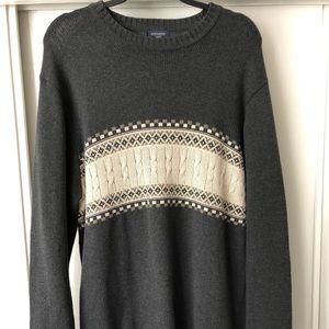 Vintage-DOCKERS 90's Knit Sweater Men's L